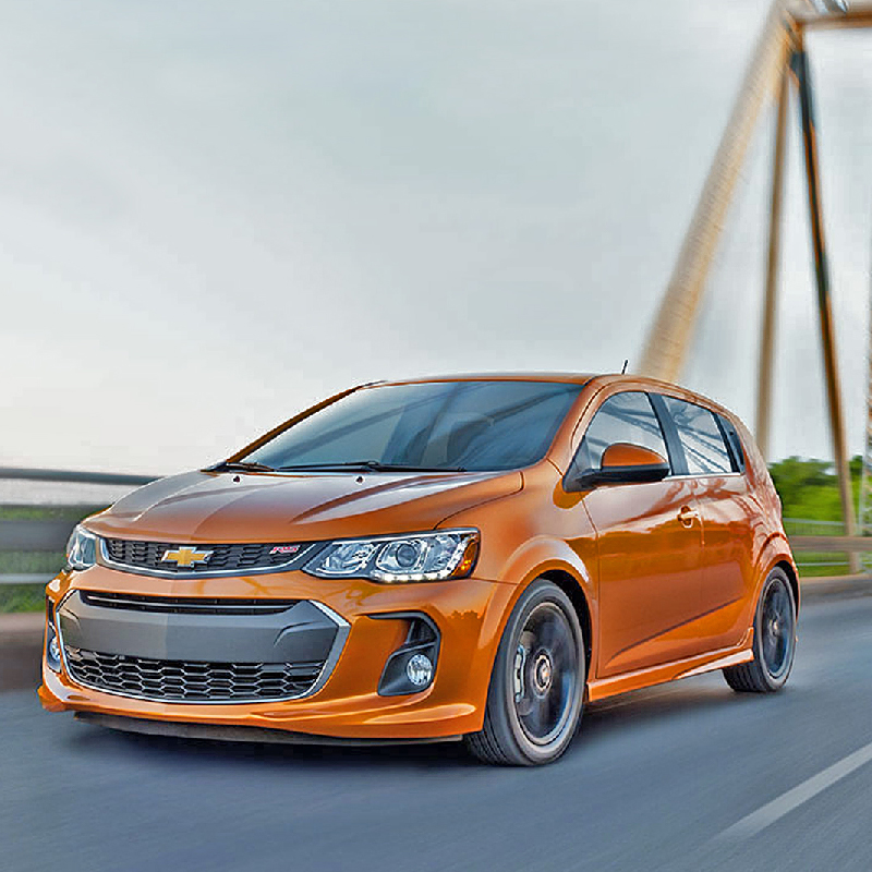 The New 2019 Chevy Sonic Goes Turbo On All Trims