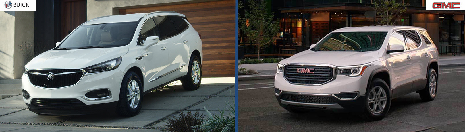 Groovy Suv Shopping Compare The 3 Row Suv Options From Buick Gmc Evergreenethics Interior Chair Design Evergreenethicsorg