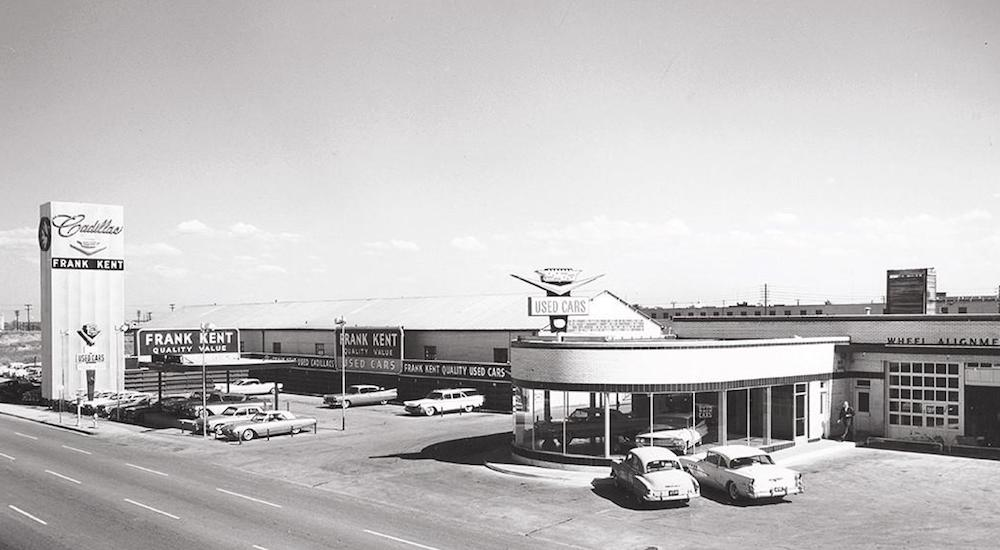 Cadillac Dealerships - Then and Now